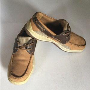 Dexter  Men's Brown And tan Colours Lace Up Shoes,